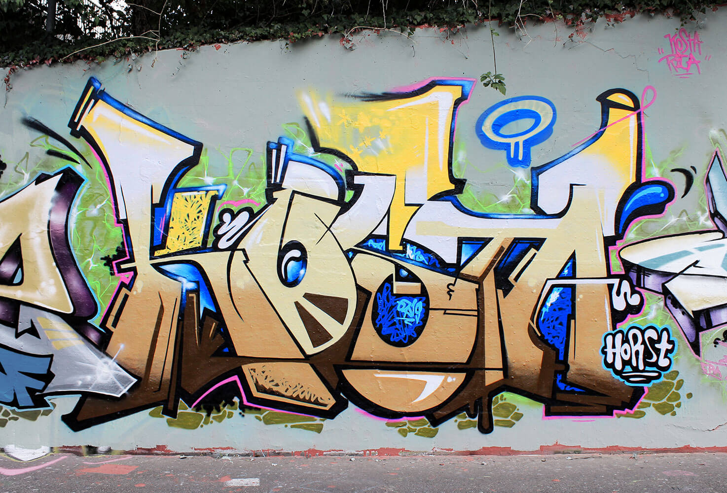 "Kosta Graffiti am ""Schänzli"" in Basel (CH) 2014"