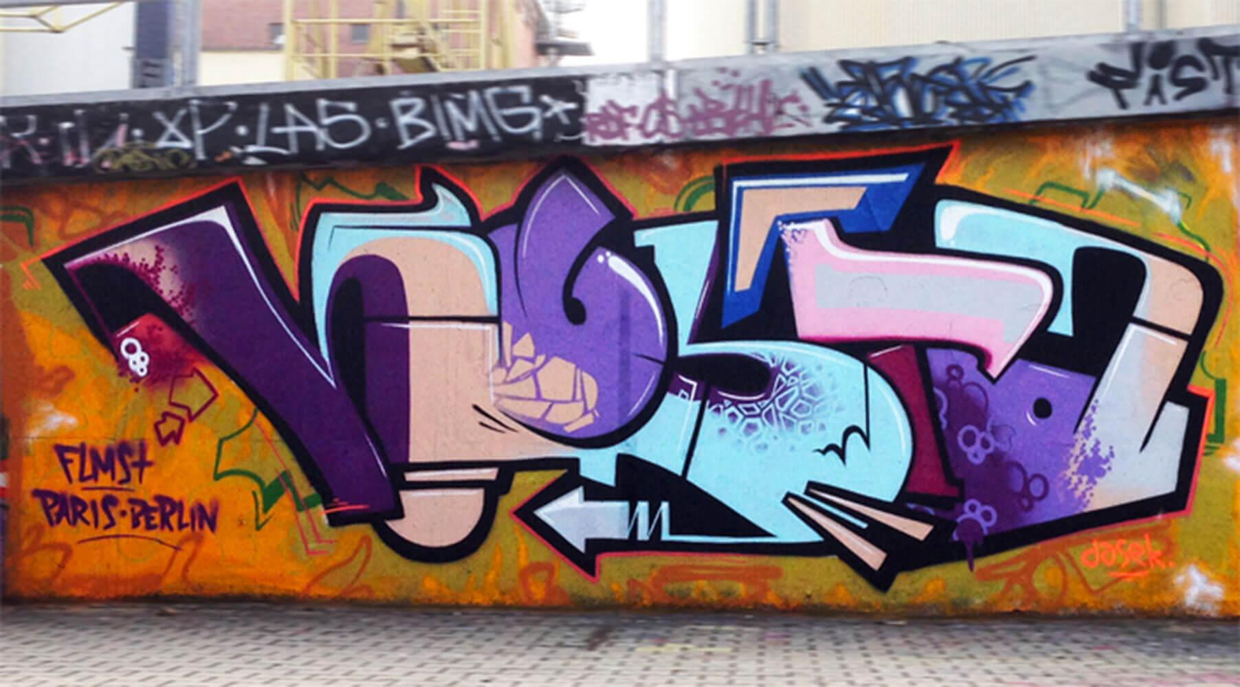 Graffiti Erfurt (Saline) Kosta - Max Kosta 2013