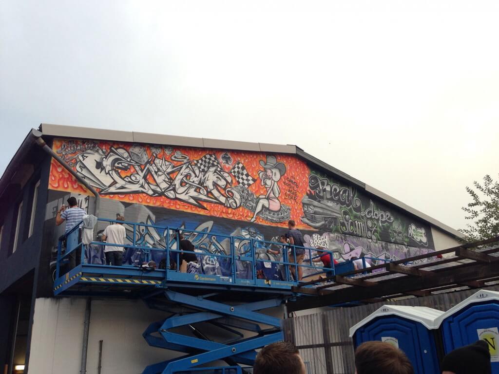 Graffiti Jam Hamburg - Blech und Dosen Jam - Max Kosta 2014