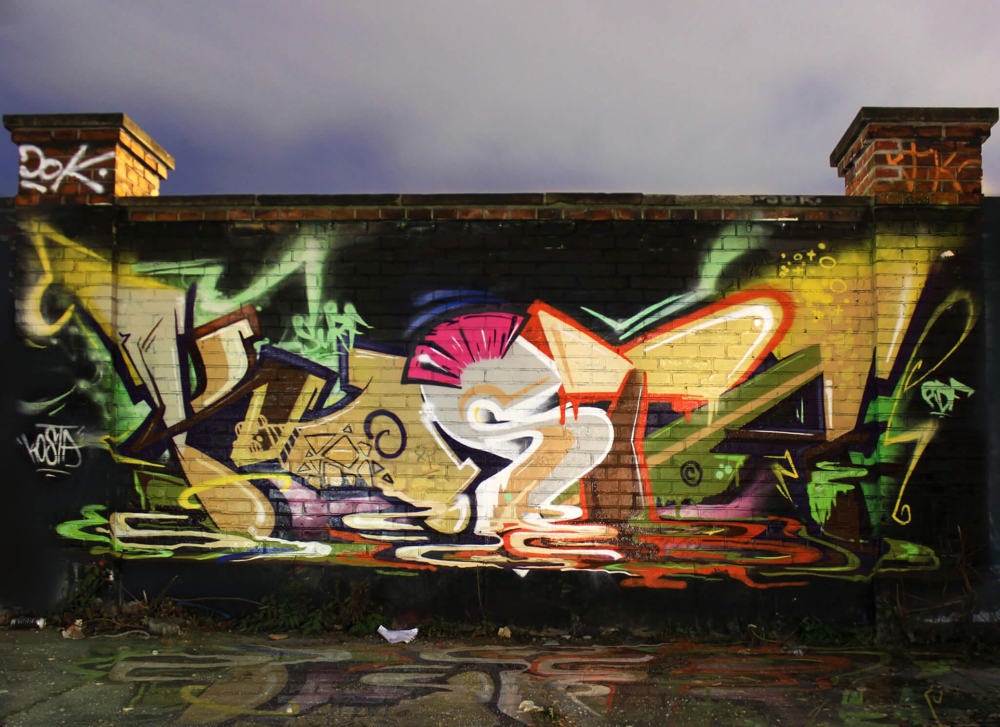 Kosta Graffiti in Munich by Max Kosta 2014