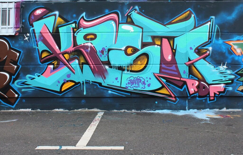 Kosta (RDF Crew) Graffiti in Bad Salzungen 2015