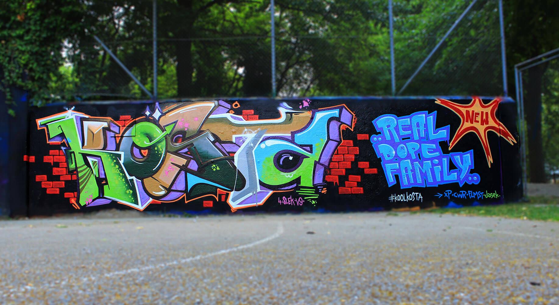Kosta Graffiti - Max Kosta / Basel (CH) 2014