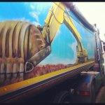 LKW Graffiti Max Kosta