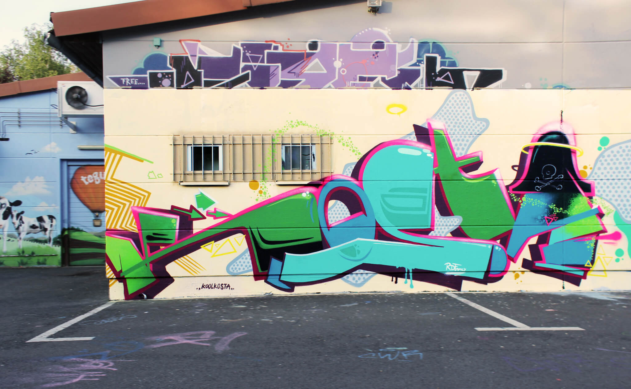 Kosta Graffiti in Bad Salzungen 2017