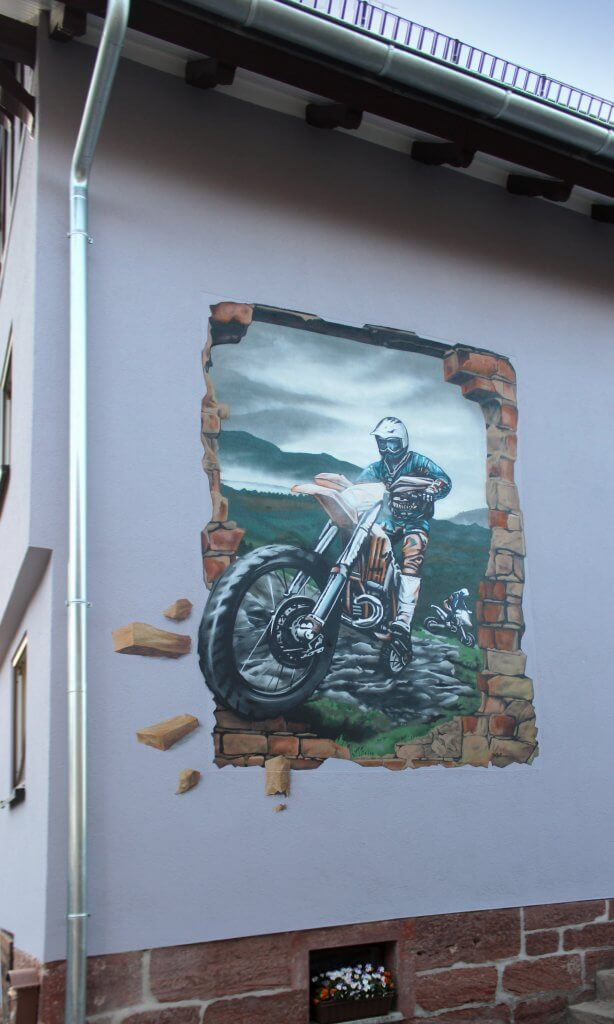 Graffiti Auftrag Wartburgkreis - Völkershausen von Max Kosta 2017