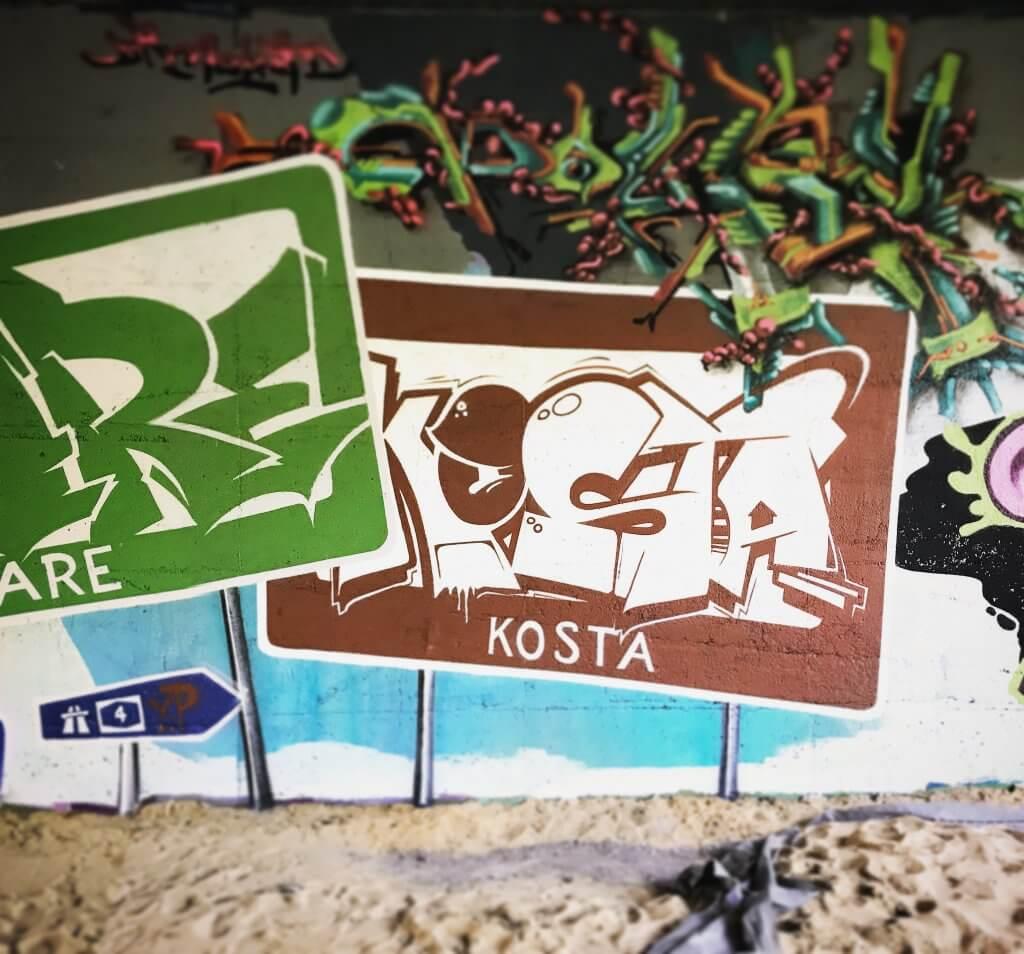 Graffiti in Erfurt 2017 - Strandgut